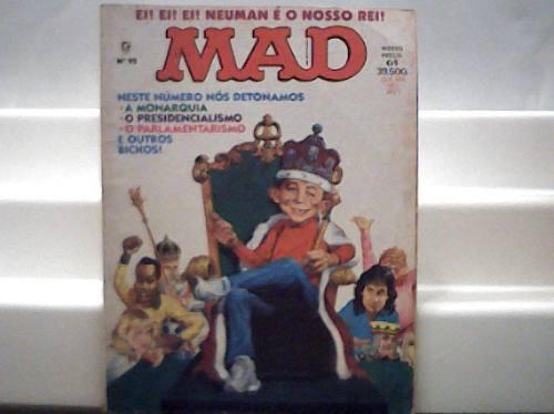 Revistas Mad N. 92 / Ei Ei Neuman É O Nosso Rei / Abril 1993