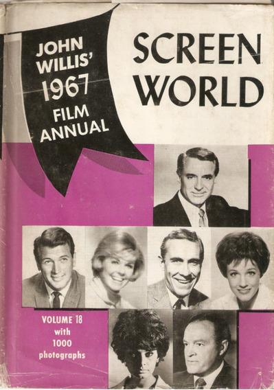 Livro Do Cinema De 1967 - Importado - Screen World