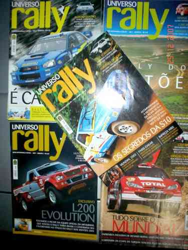 Revistas Universo Rally - 4x4 Off Road Jeep Jipe 4 X 4 Fora