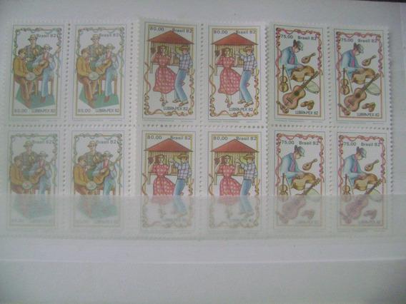 Serie Em Quadras - 1982 - Lubrapex 82 - C-1281/83