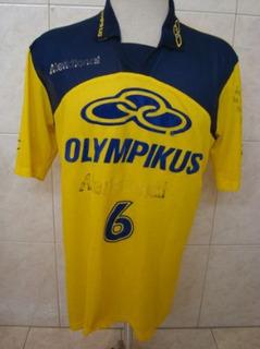 Antiga Camisa Voleibol Olympikus Volei Autógrafo Maurício #6