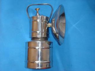 Lampião A Carbureto Inóx Lanterna Carbureto