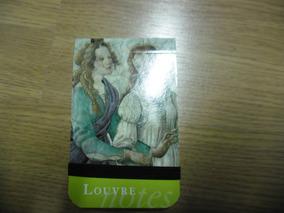 Mini Livro De Anotações Do Louvre De Roma