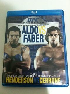 Ufc Blu Ray Aldo Vs Faber Zerado !! 11 Lutas Wec