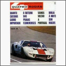 Quatro Rodas Nº 78 - Niterói Antes Da Ponte - Amphicar