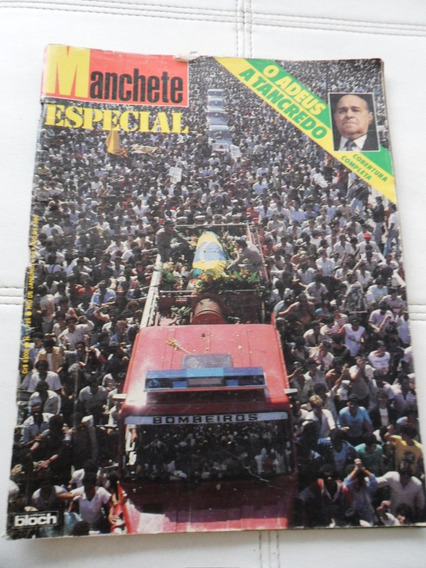 Revista Manchete - Tancredo Neves (1985)
