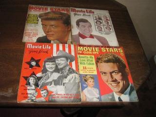 Movies Revista De Cinema 1948 À 1951 Inglês Lote 5 Edições