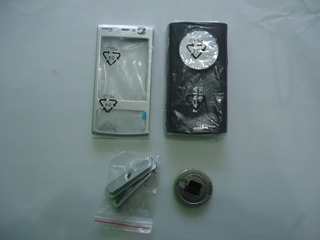 Carcaça Original Nokia N-95 Original Fundo Preto Apenas 69.0