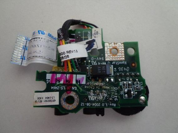 Placa De Som Para Notebook Toshiba M35x-s149