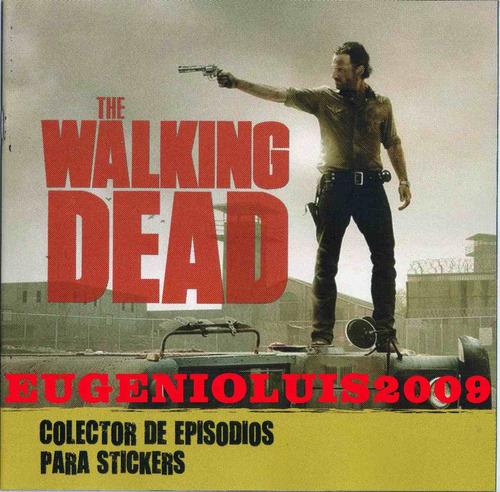 Álbum Walking Dead Completo Figuritas A Pegar