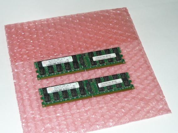 Kit 8gb (2x4gb)240p Pc2-5300 Cl5 Ddr2-667 2rx4 Ecc Reg Hynix