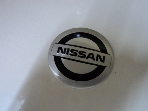 Emblema Nissan Adesivo Para Rodas Esportivas 69mm