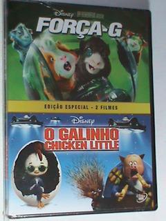 Dvd-ed.especial-2 Filmes:força-g E O Galinho Chicken Little