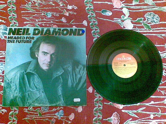 Lp Neil Diamond - Headed For The Future