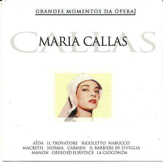Maria Callas Grandes Momentos Da Ópera - Aida La Traviata