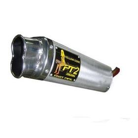Escapamento Modelo Pt2 (aluminío) Biz,titan,ybr,strada...