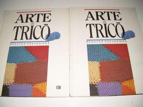 Arte Em Tricô - Modelos Exclusivos - 2 Volumes - Capa Dura