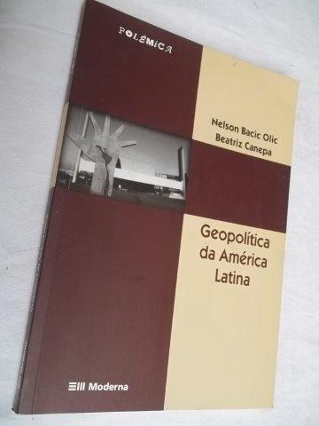 * Livro - Geopolitica Da América Latina - Geografia