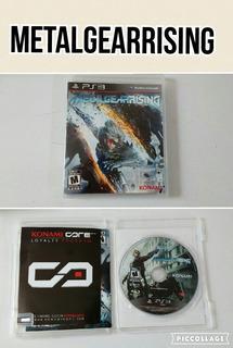 Metal Gear Rising Ps3 Juego En Cd Original