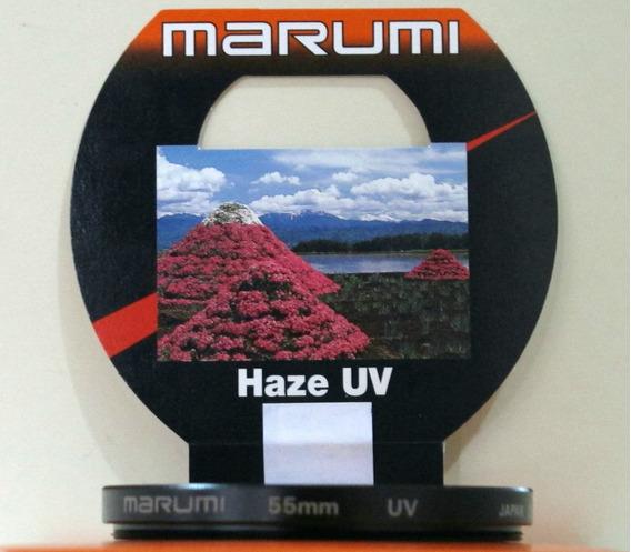 Filtro 55mm Uv Serie (hase) Marumi (no Estado)