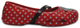 Zapato Crocs Niña Crocs Little Lina Minnie Flat