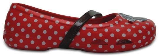 Zapato Crocs Niña Crocs Little Lina Minnie Flat
