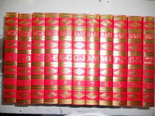 Enciclopédia Base 11 Volumes - Nova Ortografia