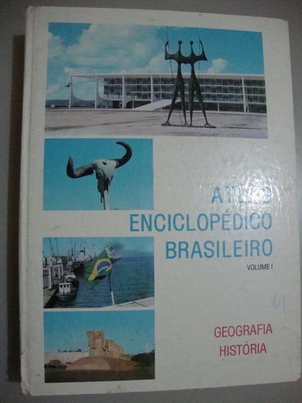 Livro Atlas Enciclopédico Brasileiro Volume 1