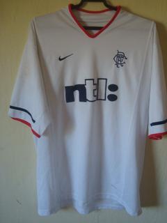 Camisa Do Rangers Da Escocia