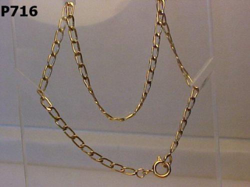 #716p- Pulseira Em Ouro 18k - 21cm Compr