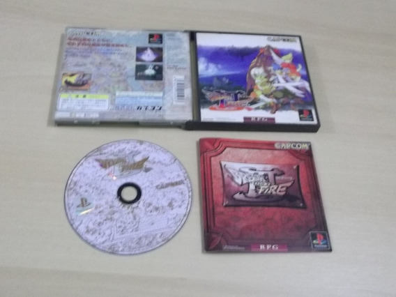 Ps1 - Breath Of Fire 3 (japonês)