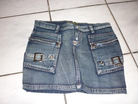 Mini Saia Jeans T.38