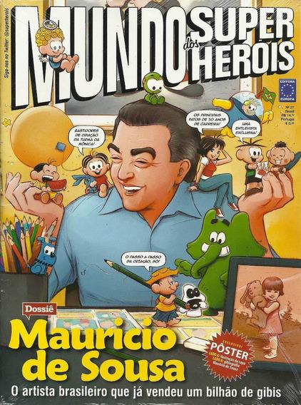 Mundo Dos Super-herois 27 - Europa - Bonellihq Cx86 G19