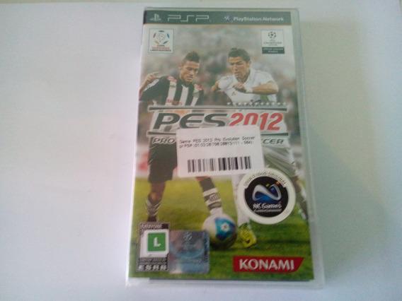 Sony Psp Pes 2012 Original E Lacrado Na Caixa!!!!