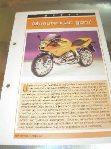 ( L - 430 ) Folder Motocicleta - Manutenção Geral