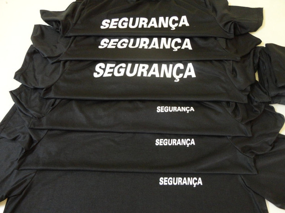 Kit 15 Camisetas Para Segurança Malha Fria Pv