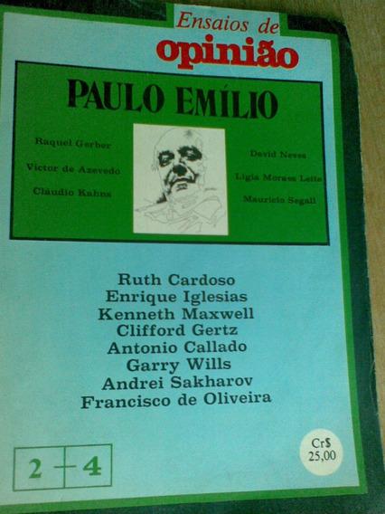 Revista Ensaios De Opinião - 1978 - Paulo Emilio
