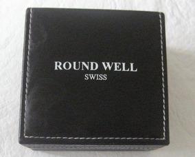 Relogio Round Well Swiss Caixa Original