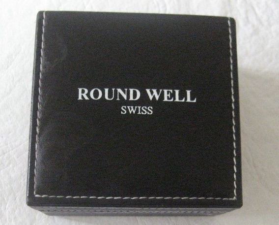 Relogio Round Well Swiss Caixa Original