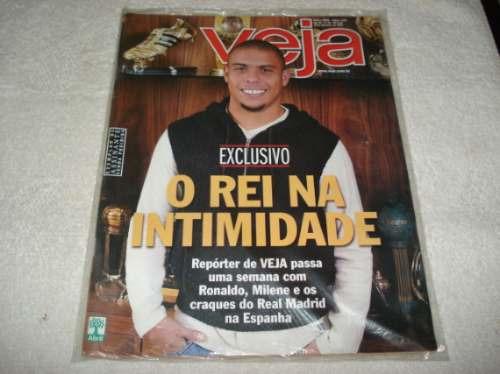 Ronaldo Revista Veja Dezembro/2003 Uma Semana Com O Rei