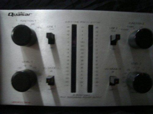 Amplificador Quasar Qa-6.600 Prata,impecavel,c/mixer