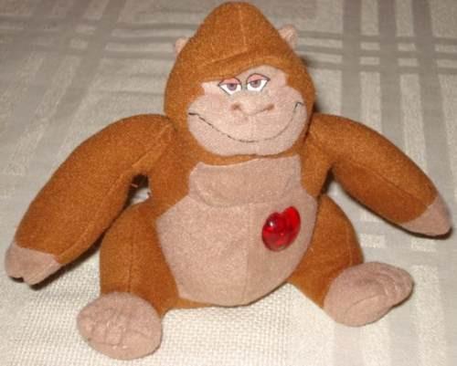 Disney Pelúcia- Gorila Mãe Do Tarzan Coração Mcdonalds 2000