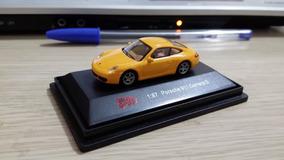 Linda Miniatura Malibu - Porsche 911 Carrera S - No Estojo !