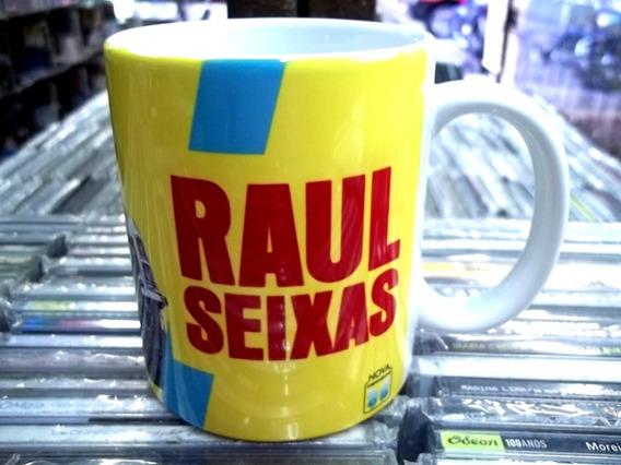 Caneca Xicara Porcelana Raul Seixas Uah Bap Lu Ba Frete 15,0