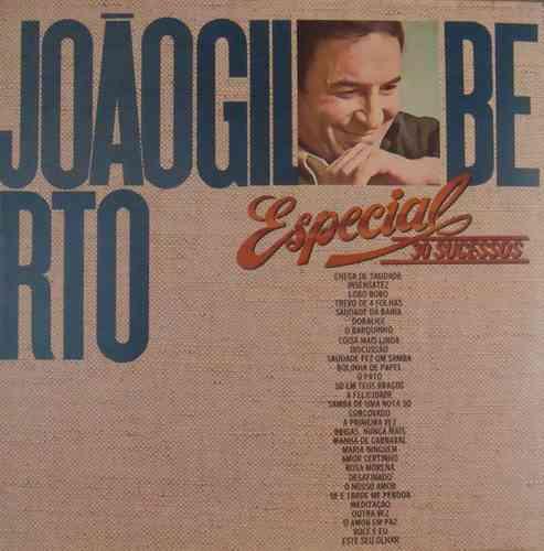 João Gilberto Lp Duplo Nac Usado Especial 30 Sucessos 1985