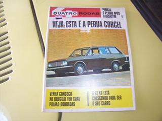 Revista 4 Rodas -- Belina I 69 4 Portas --fevereiro De 1969