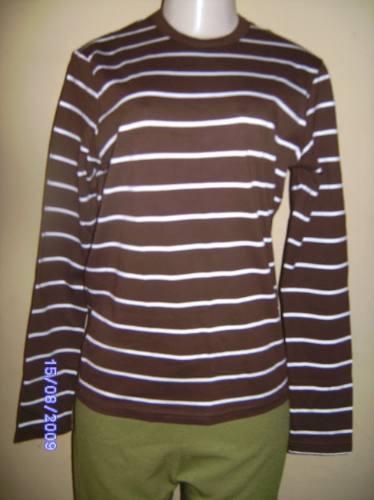 Bh008 - Brecho Camisa Listrada Da Zara Masculina