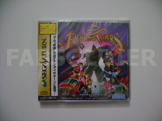 Fighting Vipers Original Japonês Novo Lacrado!