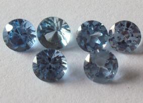 2*topázio Azul 4mm.