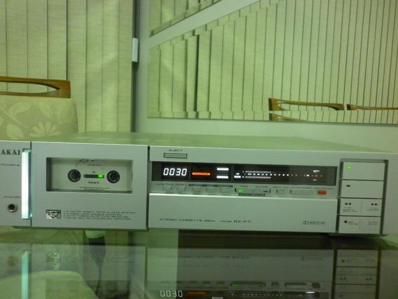 Tape Deck Akai Gx-f71 Em Ótimo Estado.